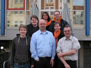 (v.L.n.R.) F. Schmidt, J. Thode, C. Sawosch, H. Behrens, D. Hillbrecht, Y. Meier, T. Ganskow